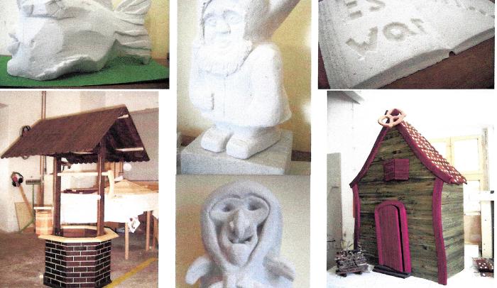 Herbstimpressionen - Skulpturausstellung im Dessau Center