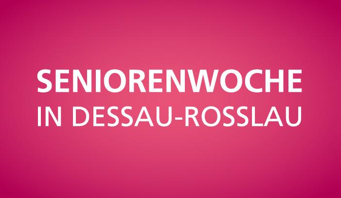 Seniorenwoche in Dessau-Rosslau