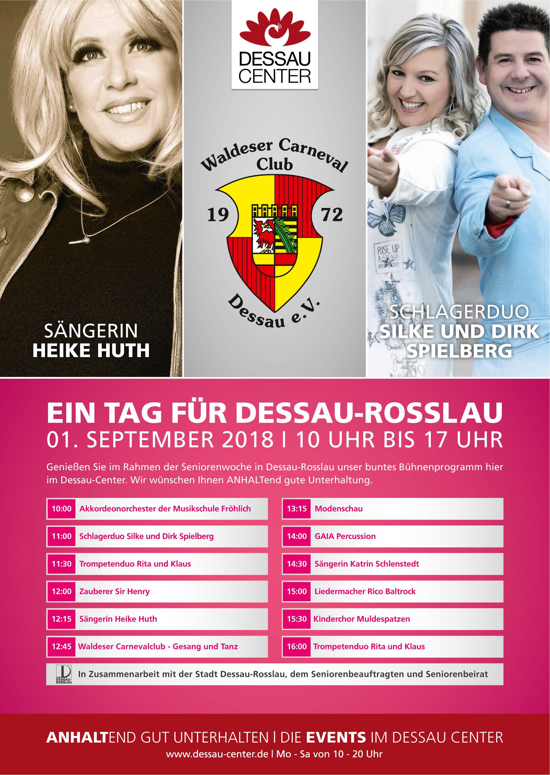 """Plakat """"Ein Tag für Dessau-Roßlau"""""""