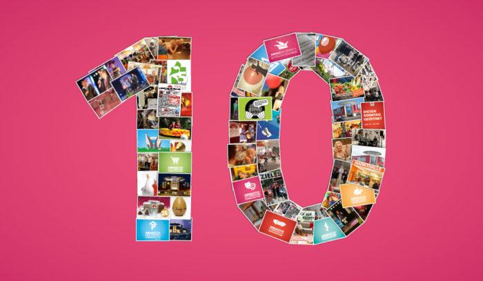 Dessau Center 10 Jahre - Wir sagen Danke