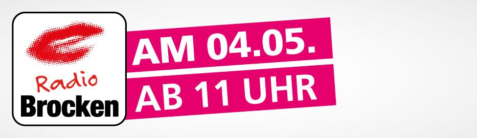 Dessau Center Programm mit Radio Brocken