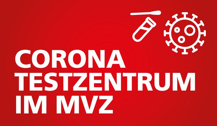 Corona Testzentrum im MVZ